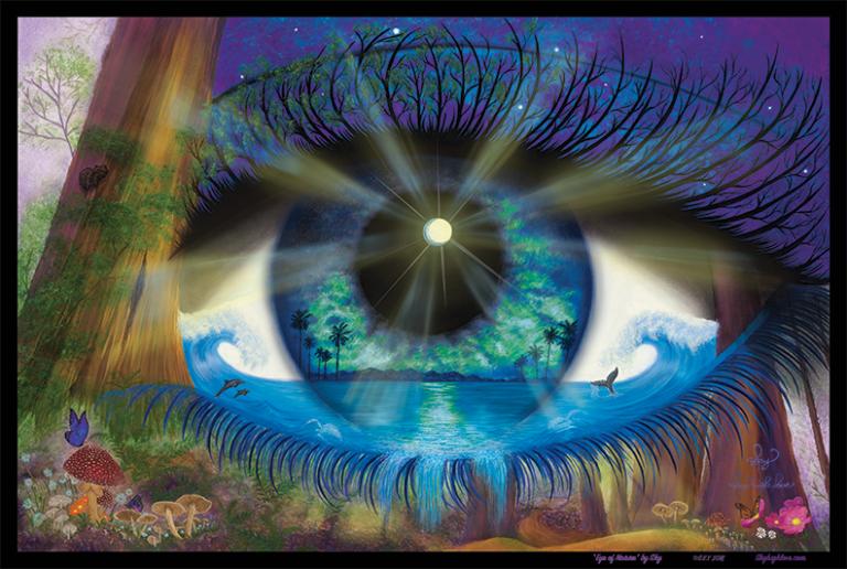 Природа глазами человека картинки